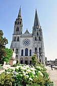 France, Eure-et-Loir, 28, Chartres, The Cathedral (UNESCO world heritage)