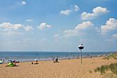 France, Saint-Michel-Chef-Chef, Tharon-Beach, seaside resort.