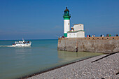 France, Normandie, Seine Maritime (76), Le Treport, lighthouse