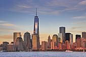 New York City, Manhattan, Downtown Skyline