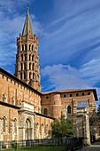 France, Haute Garonne, Toulouse, Saint Sernin Basilica.