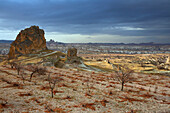 Turkey, Cappadocia, arid natural landscape, Goreme Valley