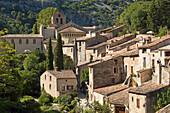 France, Herault (34), Saint-Guilhem-le-Desert, Village labeled Most beautiful villages of France