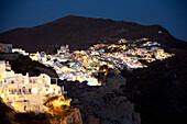 'Greece, View of Greek town; Oia'