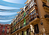 'Spain, Houses in residential district; Alicante'