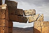'Precarious stone blocks, Khemissa site, near Guelma; Algeria'