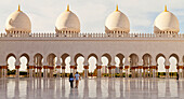 'Sheikh Zayed Grand Mosque; Abu Dhabi, United Arab Emirates'