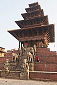 'The Nyataponla Temple; Bhaktapur, Nepal'