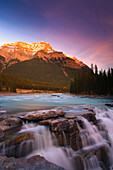 Mount Kerkeslin, Jasper National Park, Alberta, Canada