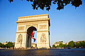 Arc De Triomphe, Champs-Elysees, Paris, France