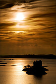 Castle Stalker At Sunset, Loch Laich, Scotland