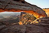 The Arch, Arches National Park, Moab, Utah, Usa