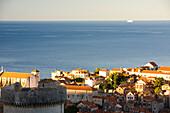 Walled City Of Dubrovnik, South Eastern Tip Of Croatia, Dalmation Coast, Adriatic Sea, Croatia, Eastern Europe, Europe