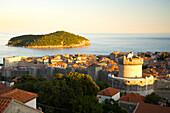 Walled City Of Dubrovnik, Southeastern Tip Of Croatia, Dalmation Coast, Adriatic Sea, Croatia, Eastern Europe