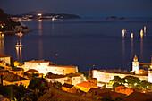 Walled City Of Dubrovnik, Southeastern Tip Of Croatia, Dalmation Coast, Adriatic Sea, Eastern Europe