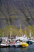 Fishing Vessels, Port Of Isafjordur, West Fjords Region, Iceland