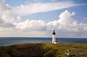 Yaquina Head Lighthouse, Oregon Coast, Usa