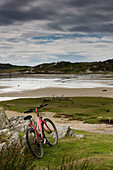 Bicycle At The Beach, Scotland