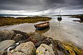 Boats In Water, Ardminish, Gigha, Scotland