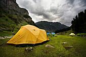 Tenting, Lidderwat, Kashmir, India