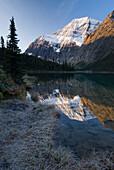 Cavell Lake, Mount Edith Cavell, Jasper National Park, Alberta, Canada