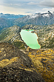 Goat Lake, Coast Mountains, Alaska, Usa