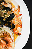 'Edmonton, Alberta, Canada; A Plate Of Seafood'