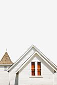 'Camrose, Alberta, Canada; An Old White School House'