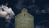 'Camrose, Alberta, Canada; Grain Elevator'