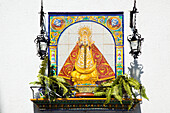 'Chiclana, Andalusia, Spain; A Picture Of The Virgen De Los Remedio'