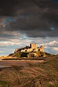 'Bamburgh, Northumberland, England; Bamburgh Castle'