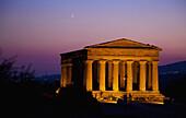 'Greek Temple; Agrigento, Sicily, Italy'