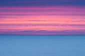 'Dramatic Sky At Sunrise Over A Deserted Ocean; Ireland'