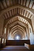 'The Dormitory Of The Monastery Of Santa Maria De Poblet; Catalonia, Spain'