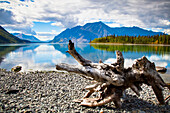 'Lake Kathleen In Kluane National Park And Reserve In The Yukon Wilderness; Haines Junction, Yukon Territory, Canada'