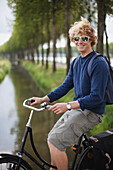 'A Young Man On His Bike; Houten, The Netherlands'