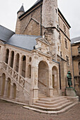 'A Historic Building With A Tower Build By Belin De Comblanchien; Beaune, Cote D'or, France'