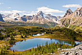 'Opabin Plateau In Lake O'hara Region; Yoho National Park, British Columbia, Canada'