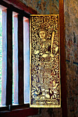 'Artwork Detail In Wat Phra Singh Temple; Chiang Mai, Thailand'