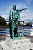 'Statue Of Gaelic Chieftain, Red Hugh O'donnell; Donegal Town, County Donegal, Ireland'