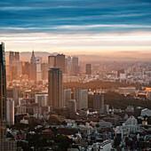 'Skyline At Sunset; Tokyo, Japan'