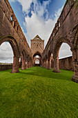 'Ruins Of Sweetheart Abbey; Dumfries, Scotland'
