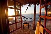 'Beach View From Resort Window; Apo Island, Philippines'