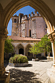 'Inner Courtyard At The Convent Of Christ; Tomar, Portugal'