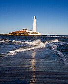 'St. Mary's Lighthouse; Whitley Bay, Tyne And Wear, England'