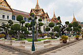 'Grand Palace Chakri Mahaprasat Hall, The Royal Reception Hall; Bangkok, Thailand'