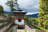 'A Structure At Wangdichholing Palace; Bumthang District Bhutan'