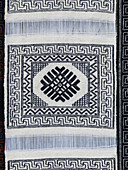 'Weaving A White And Black Design; Bumthang District Bhutan'