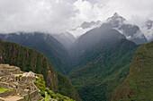 'View Of The Historic Inca Site Machu Picchu; Peru'