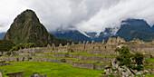'Stone Structures At Machu Picchu; Peru'